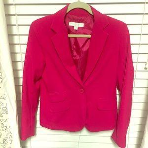 Hot pink New York & Company Blazer